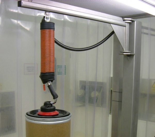 stainless steel jib crane in cleanroom facilities