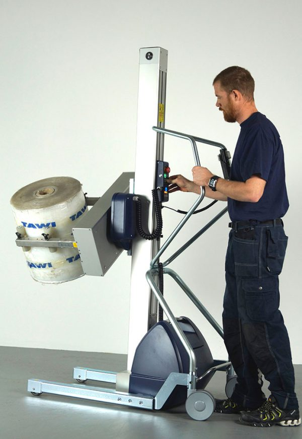 lifting trolley with easy squeeze
