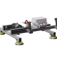 Horizontal sheet gripper