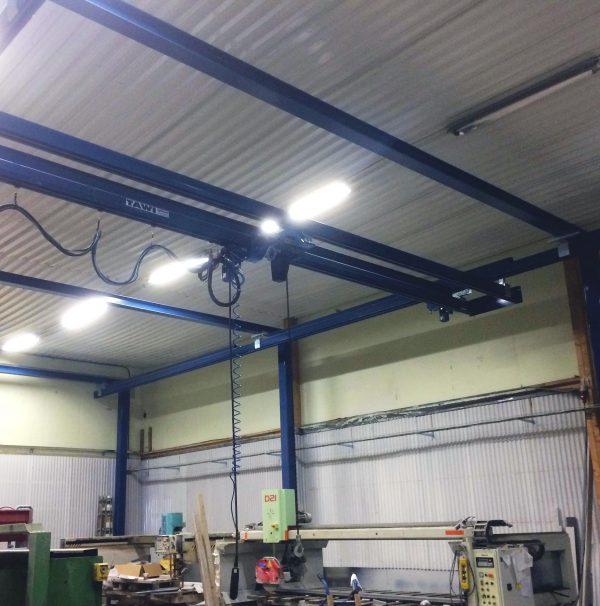 TAWI double girder crane system
