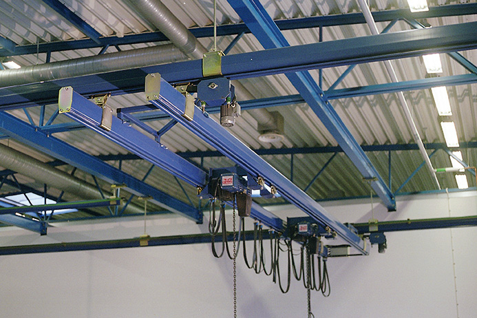 Double girder crane system