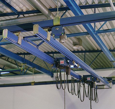 TAWI double girder crane system for heavy loads