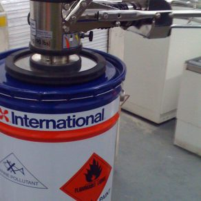 ATEX vacuum lifter lifting drum