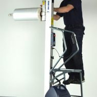 PRO180 lifting trolley with ladder