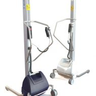 Stainless steel lifting trolley PRO140