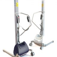 Stainless steel lifting trolley PRO180