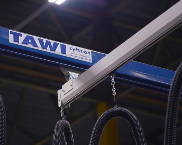 TAWI steel and aluminium crane system