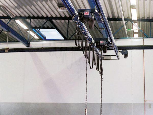 double girder overhead crane system