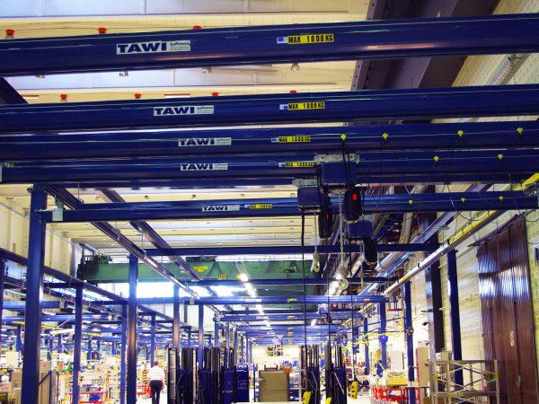 Overhead crane system