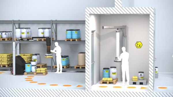lifting in cleanroom