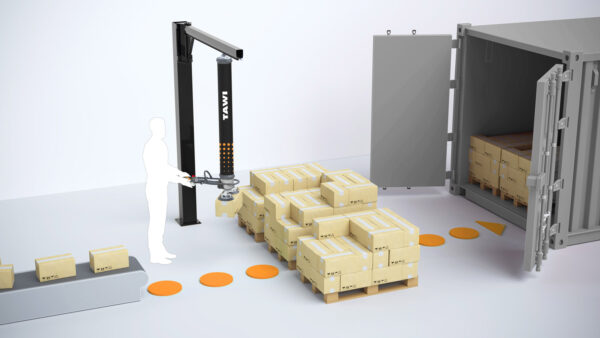 palletizing in chemical industry