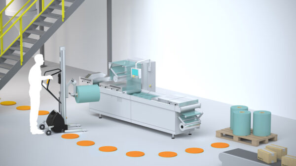packaging and palletizing in food manufacturing