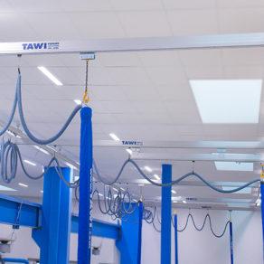 TAWI crane system